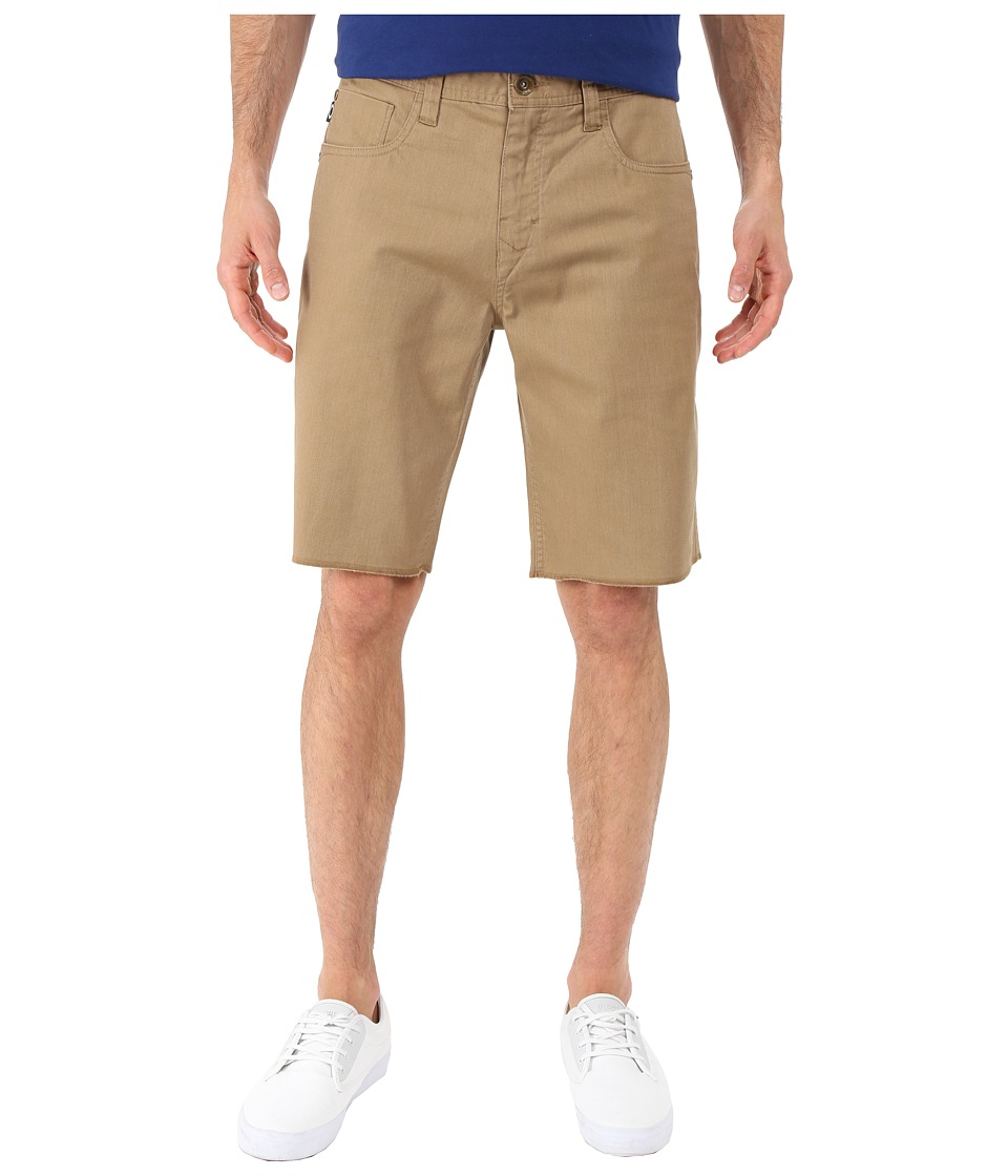 Oakley 50s Melange Shorts New Khaki Dark Heather Mens Shorts