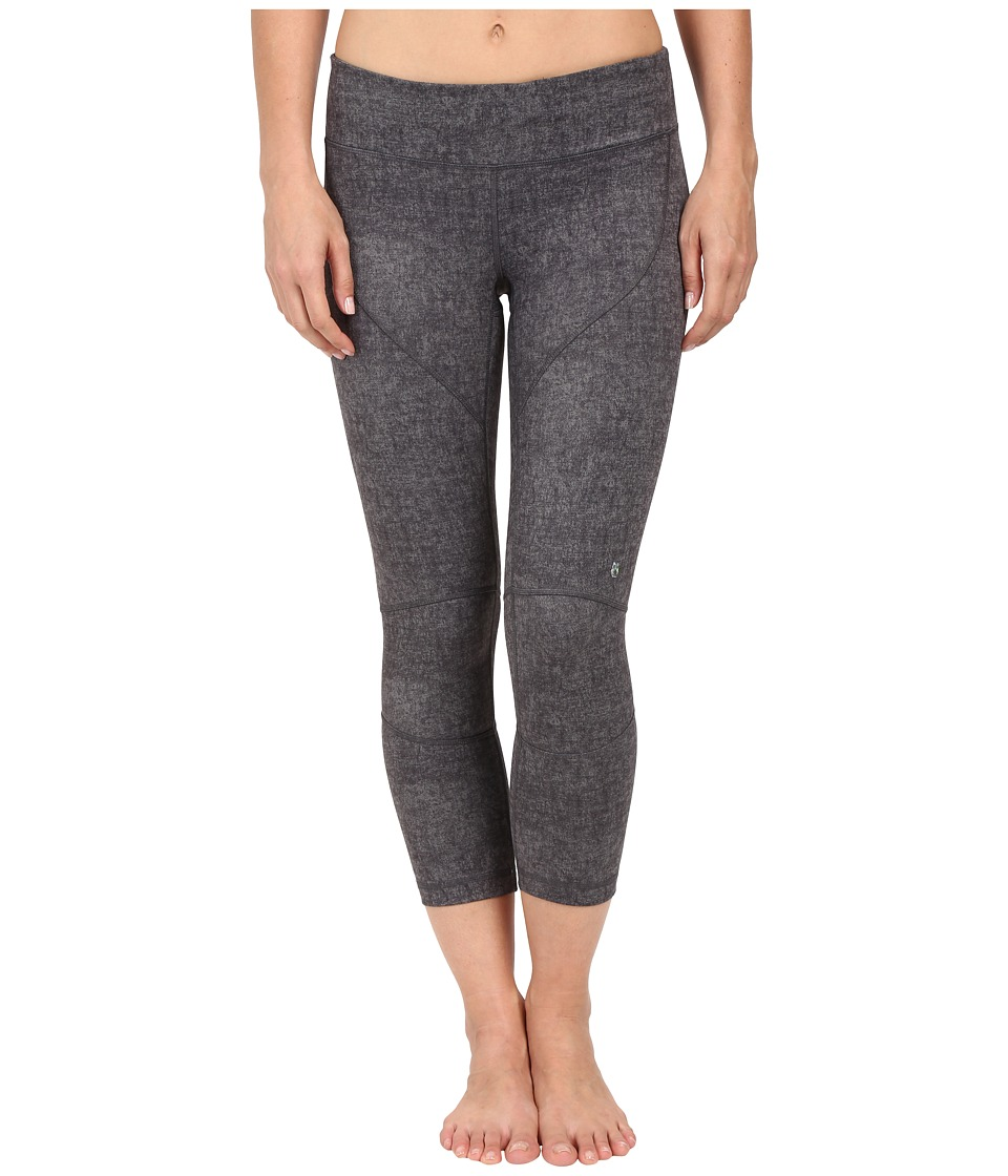 Spyder Chance Crop Pants Image Grey Washed Print Womens Workout