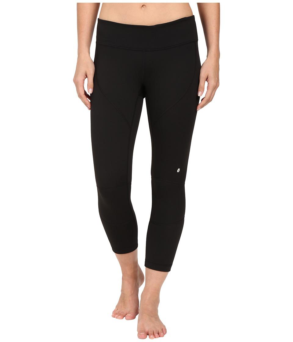 Spyder Chance Crop Pants Black Womens Workout