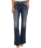 7 For All Mankind - Short Inseam HW Vintage Bootcut Jeans in Lake Blue