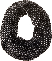 Calvin Klein - Brick Stitch Metallic Twisted Neckwarmer