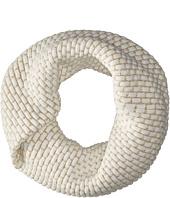Calvin Klein  Brick Stitch Metallic Twisted Neckwarmer