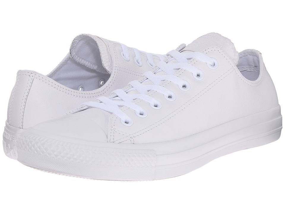 Converse Chuck Taylor All Star Leather Ox White Shoes