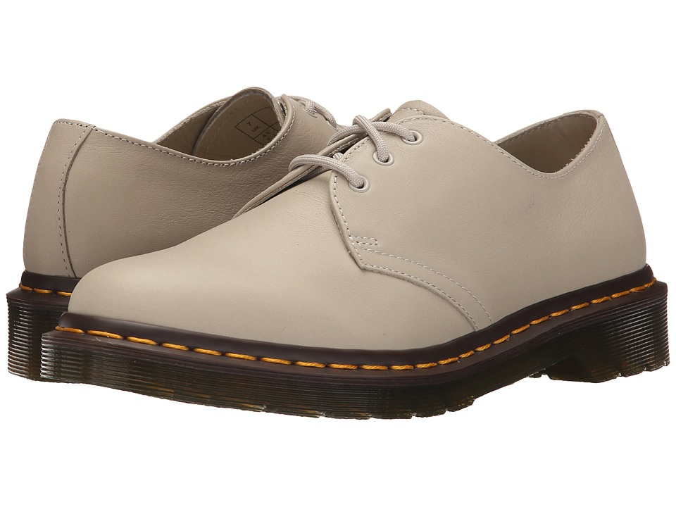 Dr. Martens 1461 3 Eyelet Shoe Ivory Virginia Womens Lace up casual Shoes