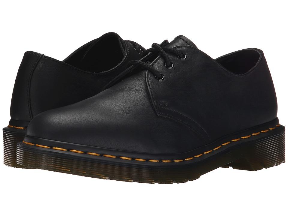 Dr Martens 1461 3-Eyelet Shoe (Black Virginia) Women's La...