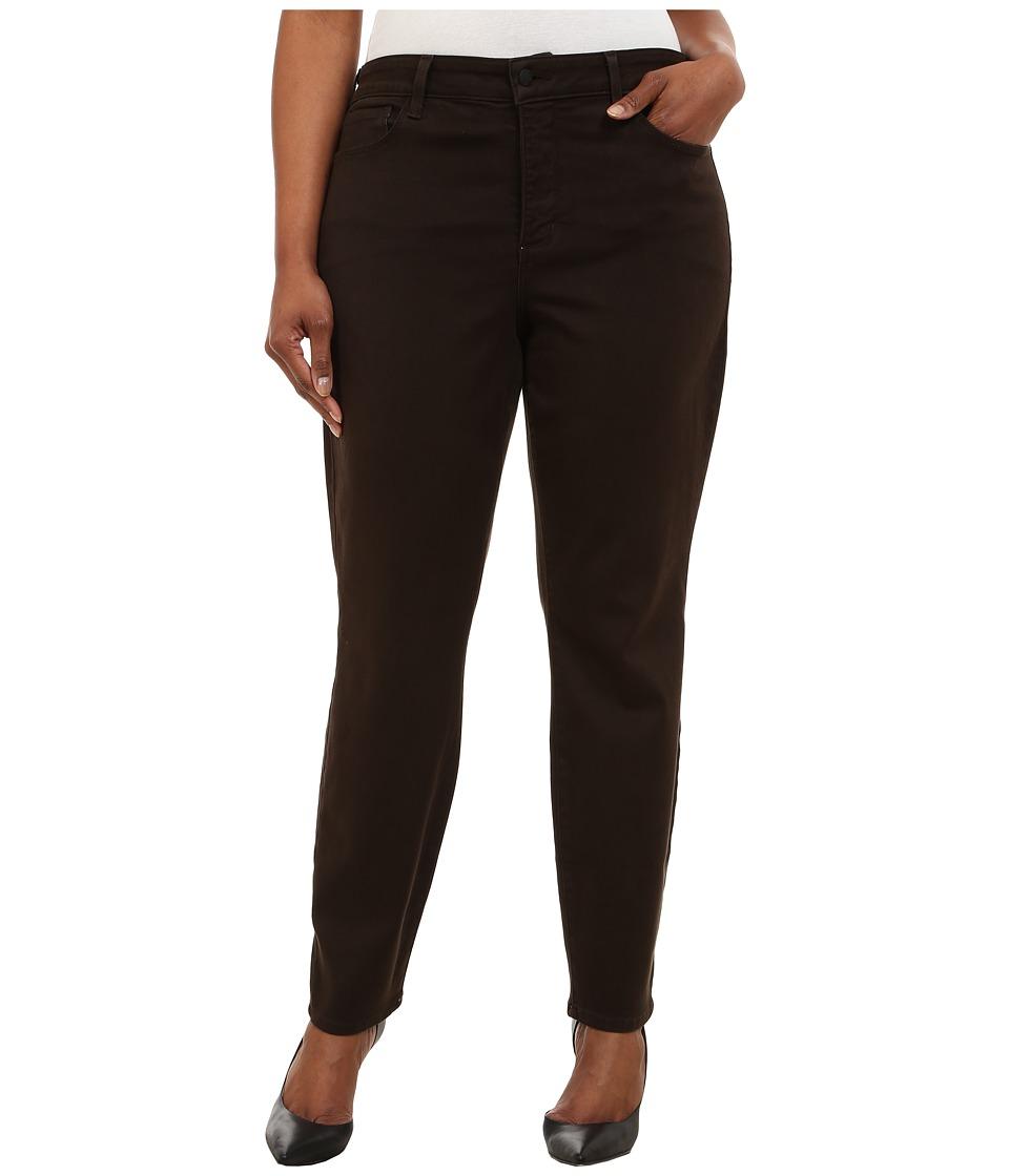 NYDJ Plus Size Plus Size Alina Leggings Molasses Womens Casual Pants