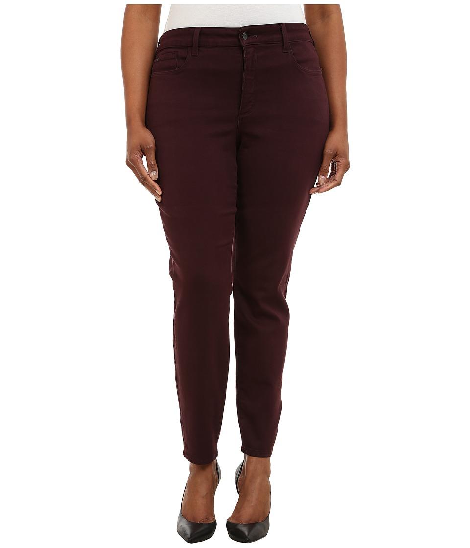 NYDJ Plus Size Plus Size Alina Leggings Brandywine Womens Casual Pants