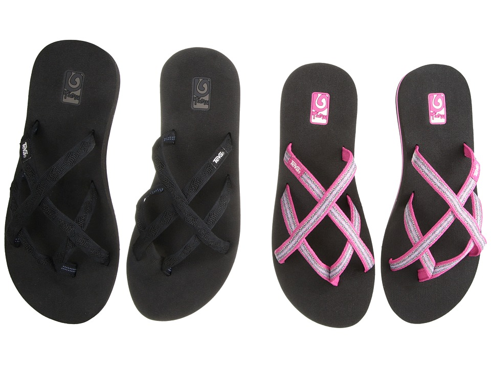 Teva Olowahu 2 Pack Mbob/Pintado Rasberry Womens Sandals