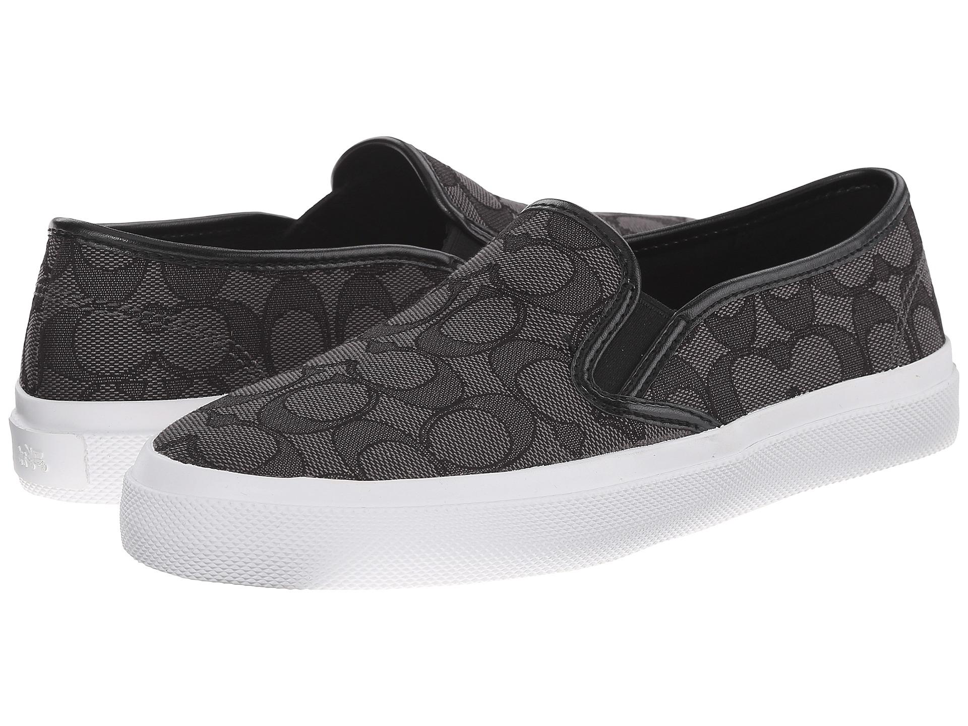 코치 크리시 아웃라인 스니커즈 시그니처 블랙 COACH Chrissy Outline Sneakers Black Signature C Nappa
