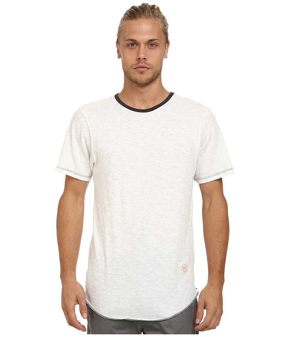 KINETIX Standard Long Fashion Tee White Mens T Shirt