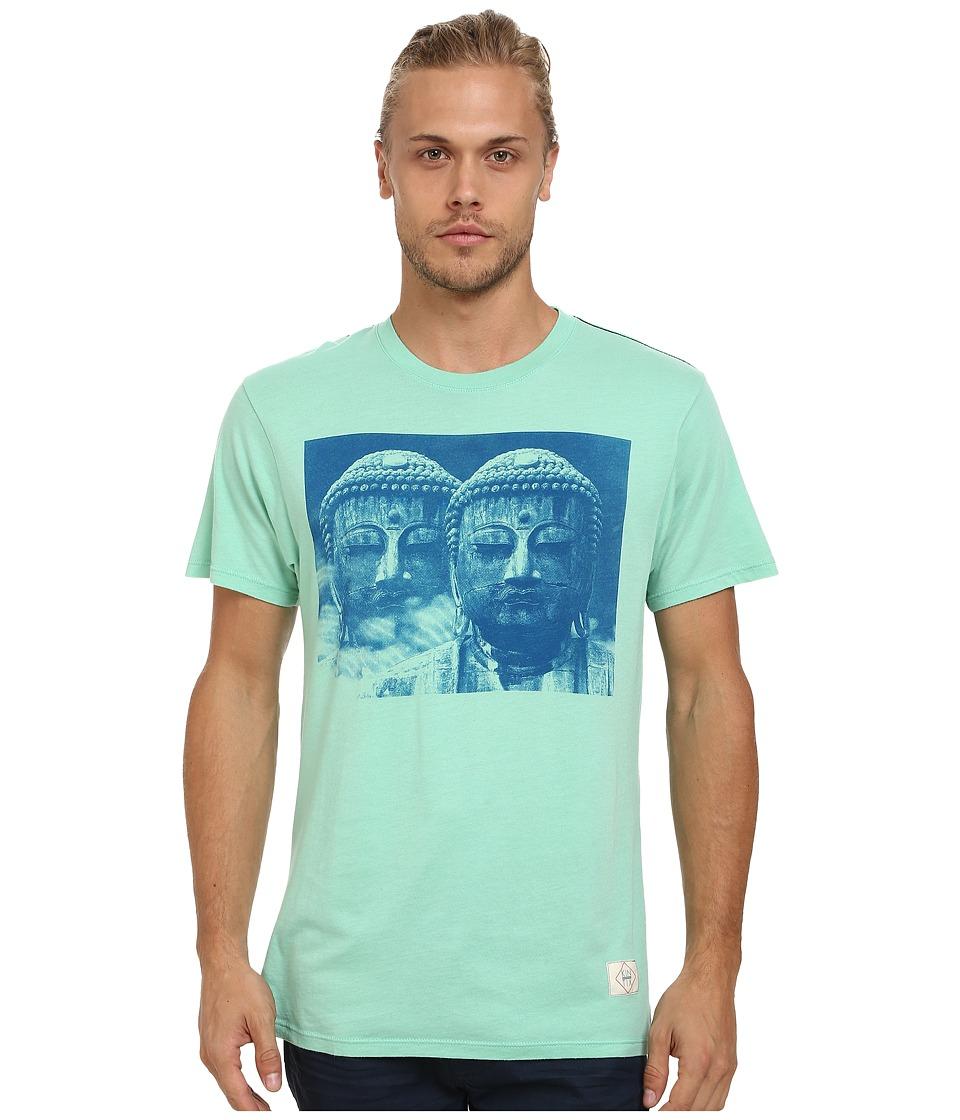 KINETIX Buddha 2 Premium Tee Mint Mens T Shirt