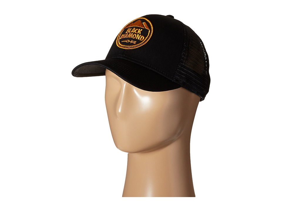Black Diamond BD Trucker Hat Black Caps