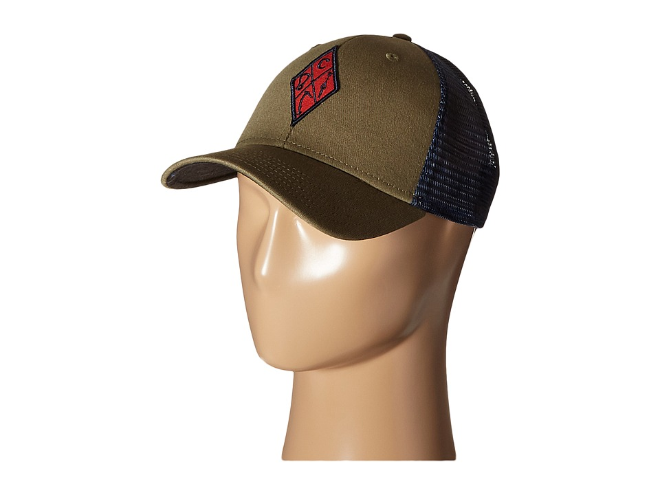 Black Diamond BD Trucker Hat Burnt Olive Caps