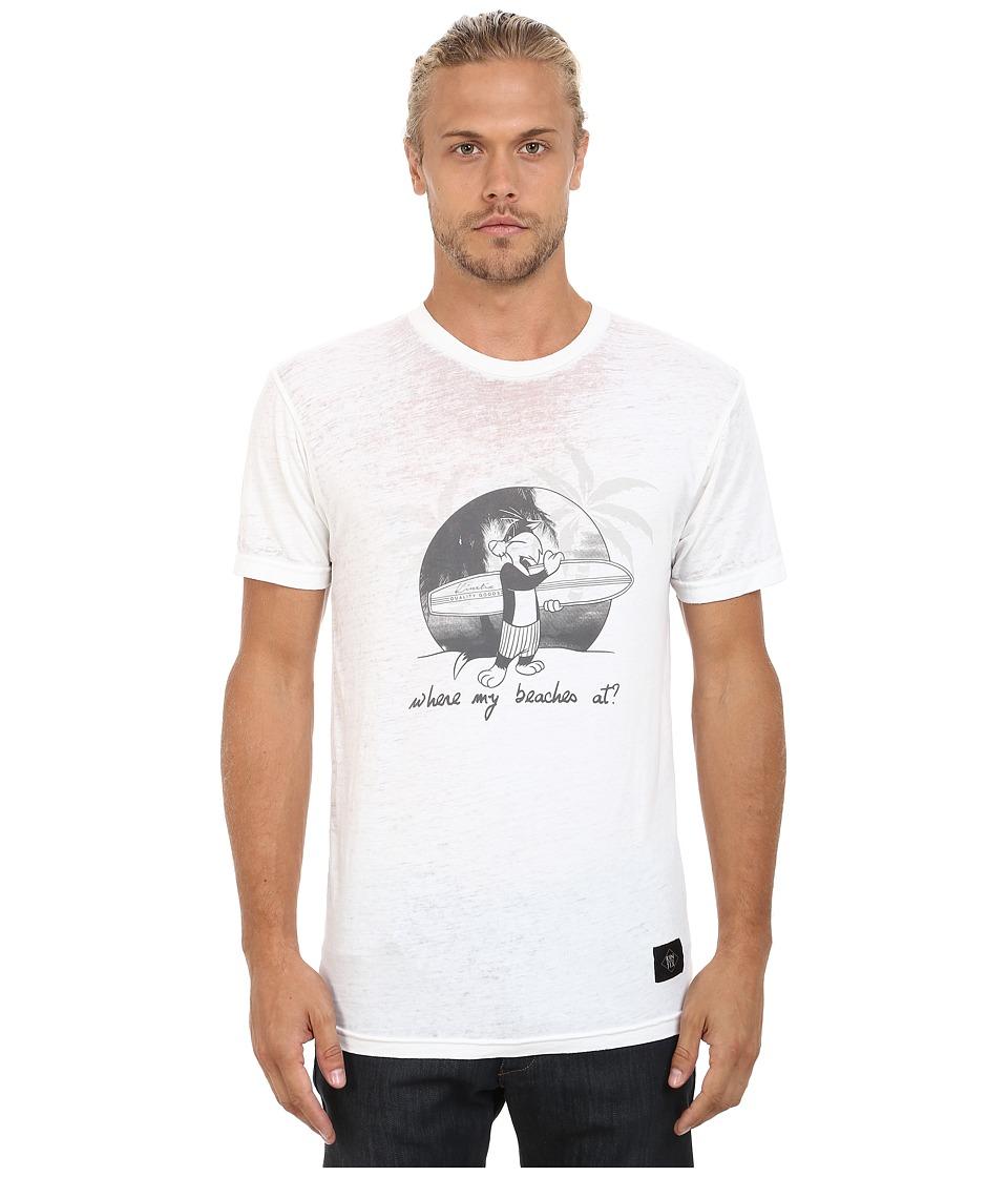 KINETIX Sylvester Beaches Tee White Mens T Shirt