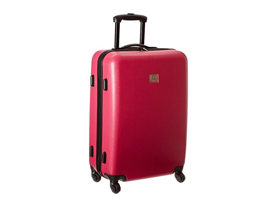 Diane von Furstenberg - Soleil 24 Hardside Spinner (Beet) Luggage