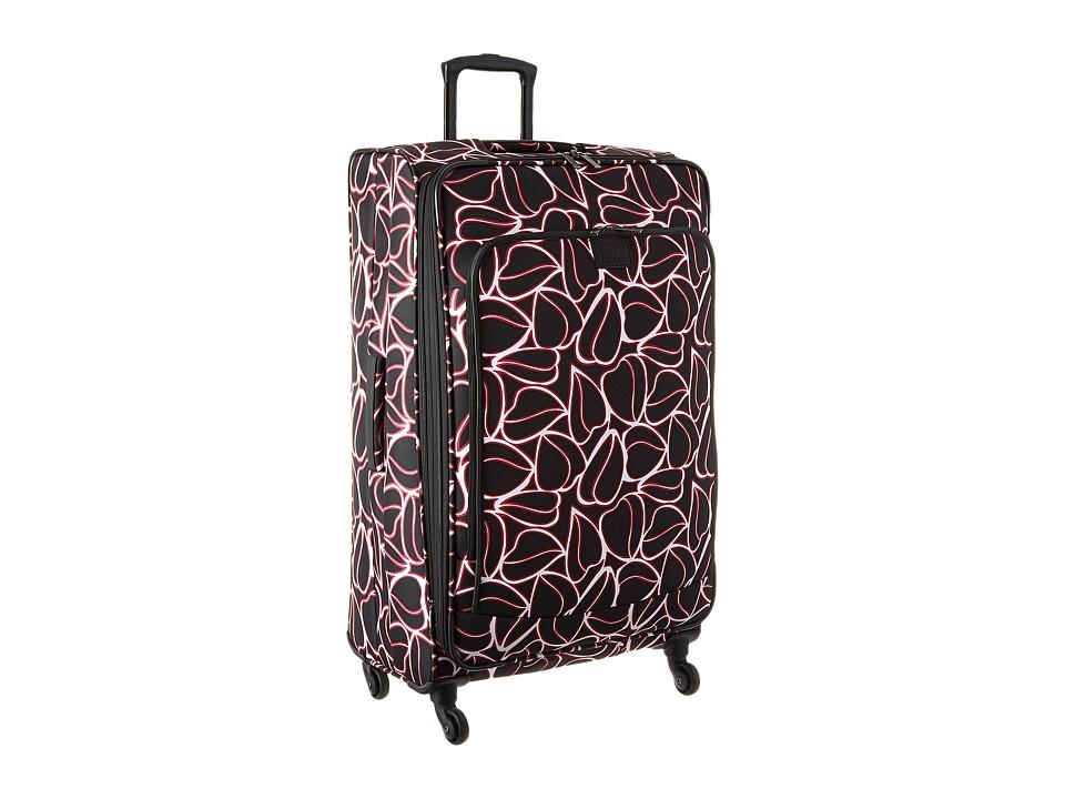 Diane von Furstenberg - Odyssey 28 Expandable Spinner (Black/Beet/White) Luggage