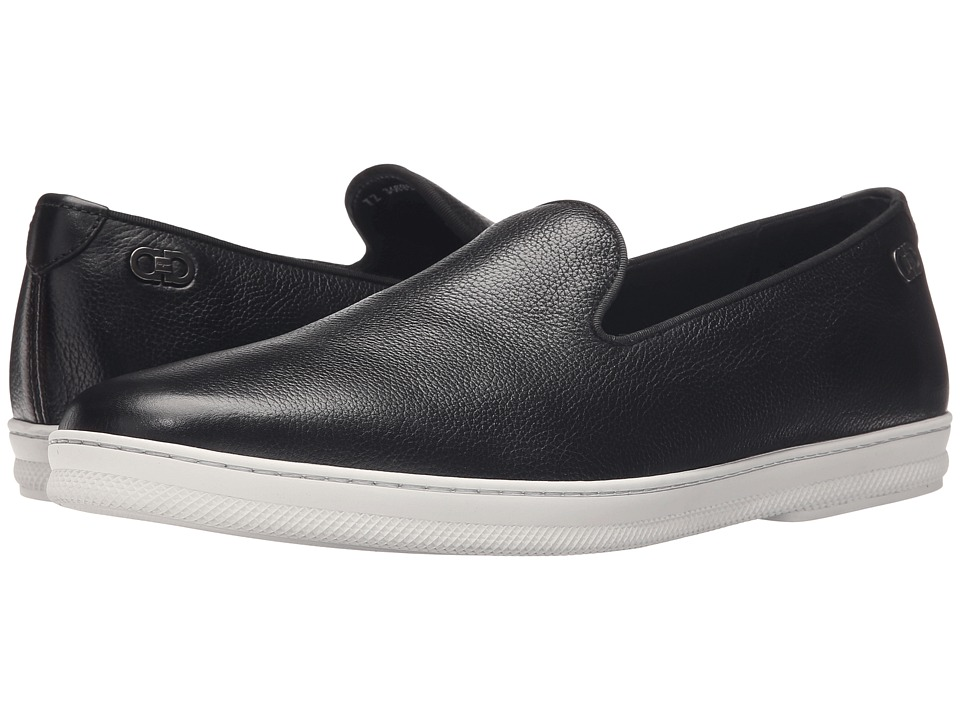 Salvatore Ferragamo Leblanc Moccasin Black Mens Moccasin Shoes