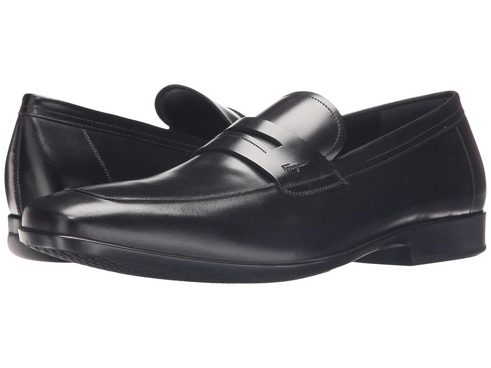 Salvatore Ferragamo Lancillotto Loafer (Black) Men