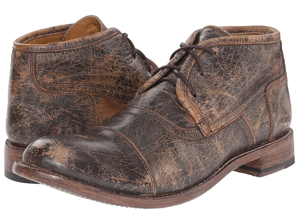 Bed Stu Randall Teak Lux Leather Mens Lace up Boots