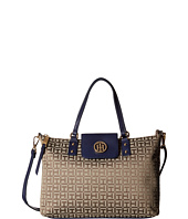 Tommy Hilfiger - Veronica - Monogram Jacquard Canvas Shopper