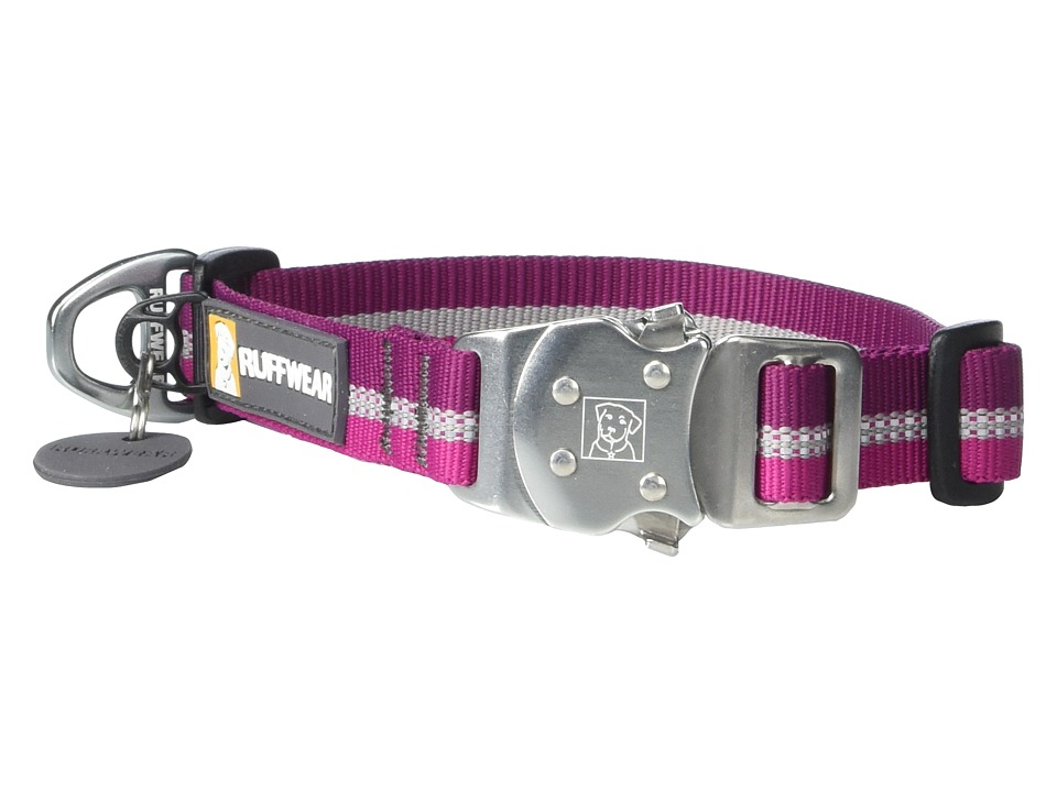 Ruffwear Top Rope Collar Purple Dusk Dog Collar