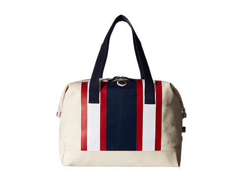 tommy hilfiger stripes canvas weekender. Black Bedroom Furniture Sets. Home Design Ideas