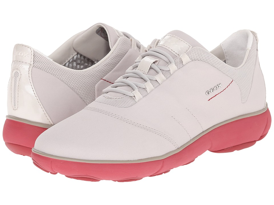 Geox W NEBULA 2 (Off-White/Coral) Women