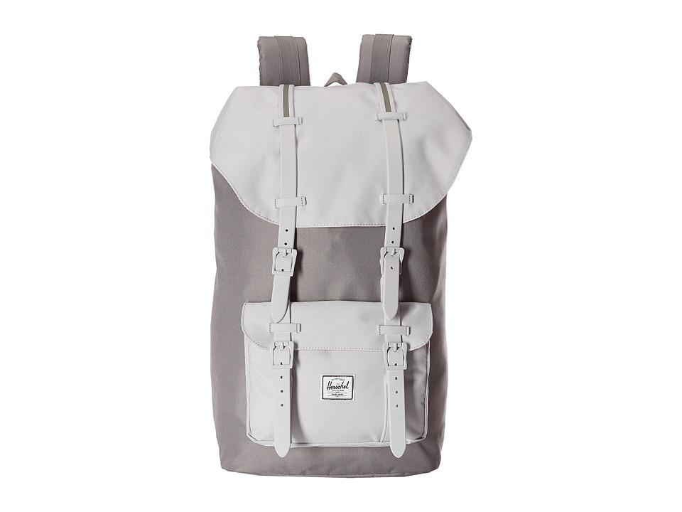 Herschel Supply Co. - Little America (Grey/Lunar Rock/Lunar Rock Rubber/Grey Insert) Backpack Bags