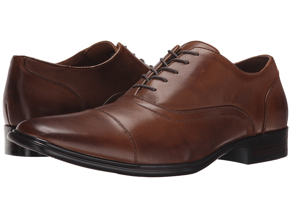 Mark Nason Rayless Cognac Leather Mens Lace up casual Shoes