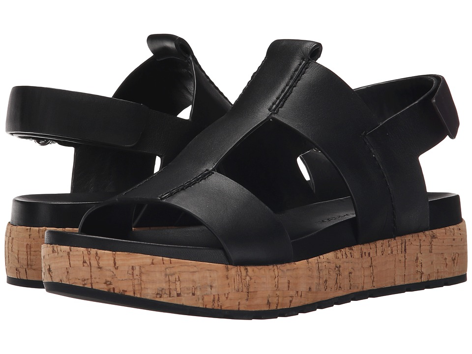 Sigerson Morrison Cabie Black Leather Womens Sandals