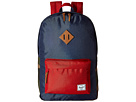 Herschel Supply Co. Heritage (Navy/Woodland Camo/Red/Tan Leather)