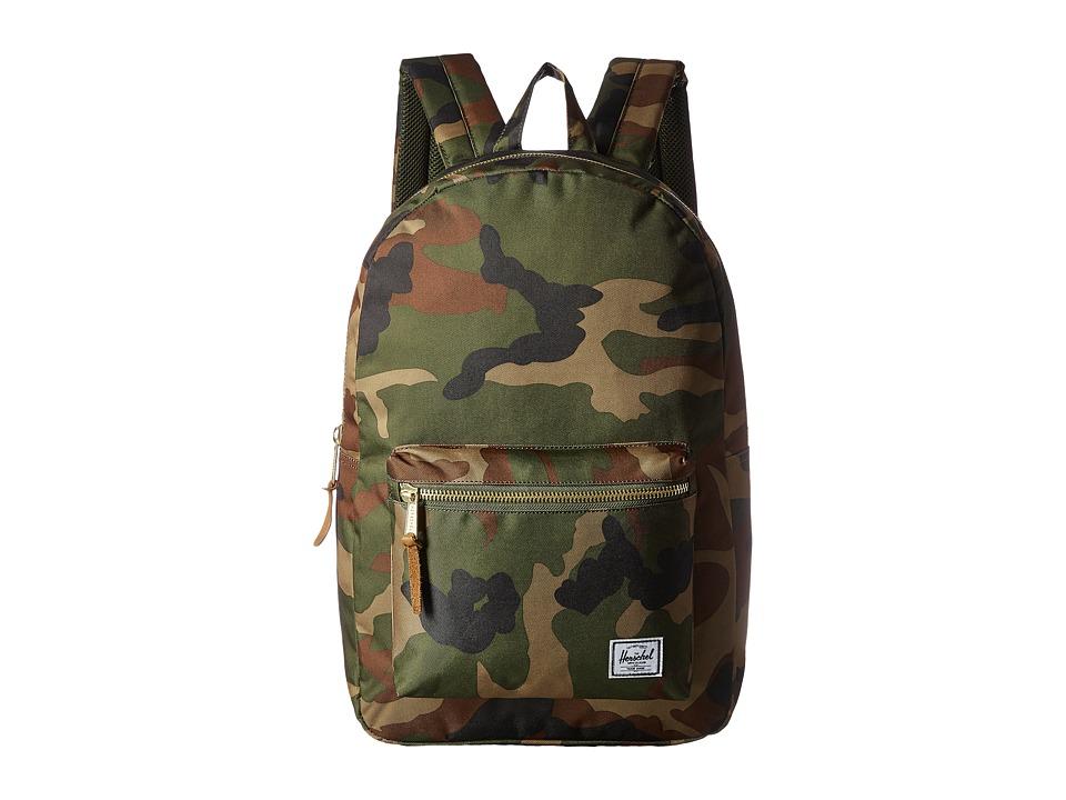 Herschel Supply Co. Settlement (Woodland Camo) Backpack Bags