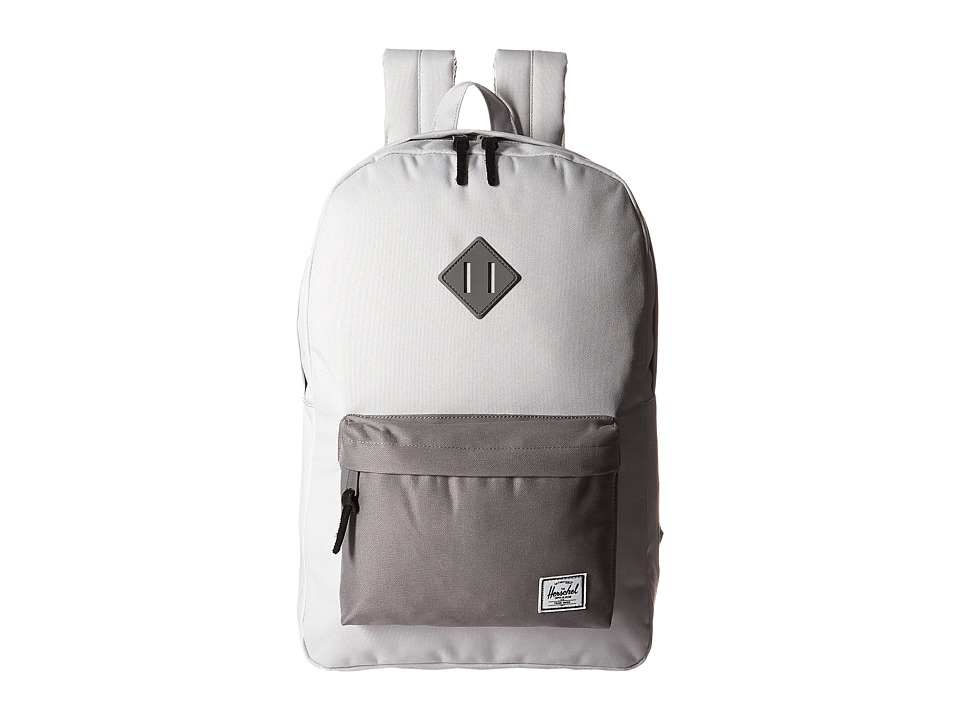 Herschel Supply Co. - Heritage (Lunar Rock/Grey/Grey Rubber) Backpack Bags