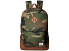 Herschel Supply Co. Heritage (Woodland Camo/Tan Synthetic Leather)