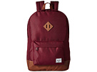 Herschel Supply Co. Heritage (Windsor Wine/Tan Synthetic Leather)