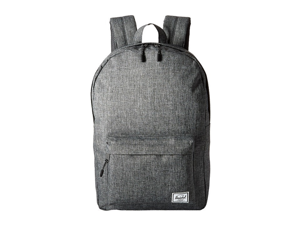 Herschel Supply Co. Classic Mid-Volume (Raven Crosshatch) Backpack Bags