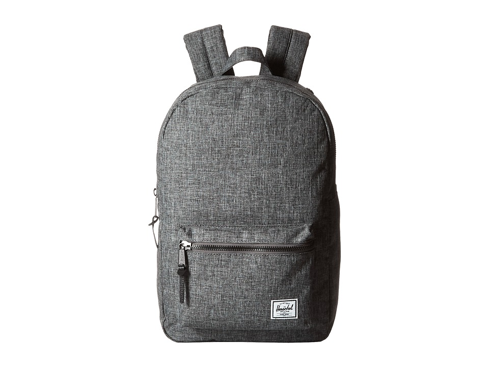 Herschel Supply Co. Settlement Medium (Raven Crosshatch) Backpack Bags