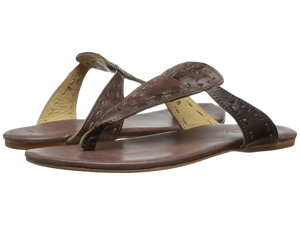 Bed Stu Mira Teak Rustic Womens Shoes