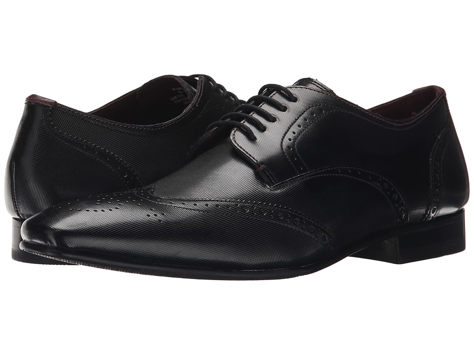 Ted Baker Finbarr 2 (Black Leather) Men