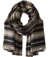 Calvin Klein - Striped Blanket Scarf