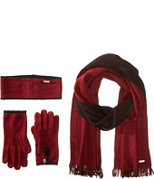 Calvin Klein - Two-Tone 3 Piece Set- Headband/Glove/Loop