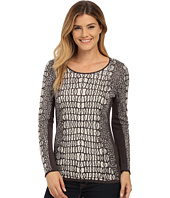 NIC+ZOE - Tiles Jacquard Top