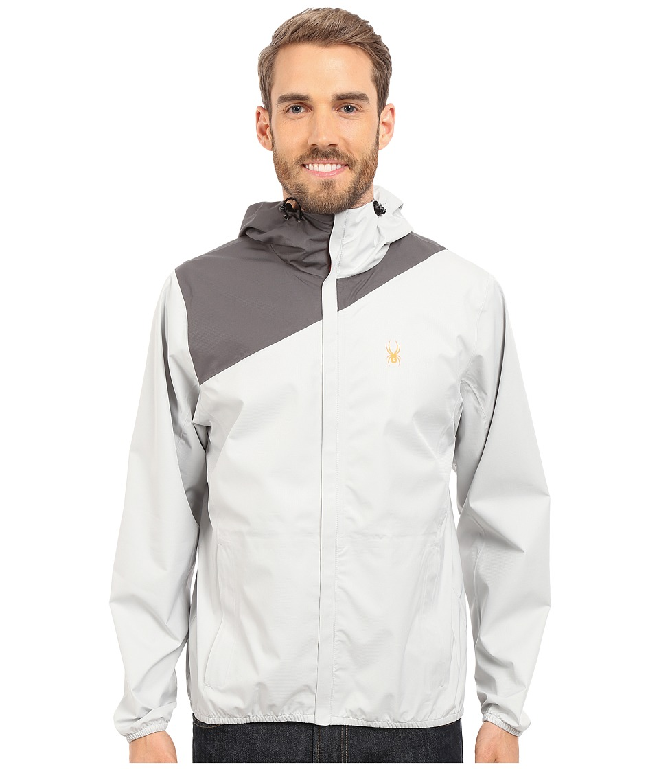 Spyder Bayse Shell Jacket Cirrus/Polar Mens Coat