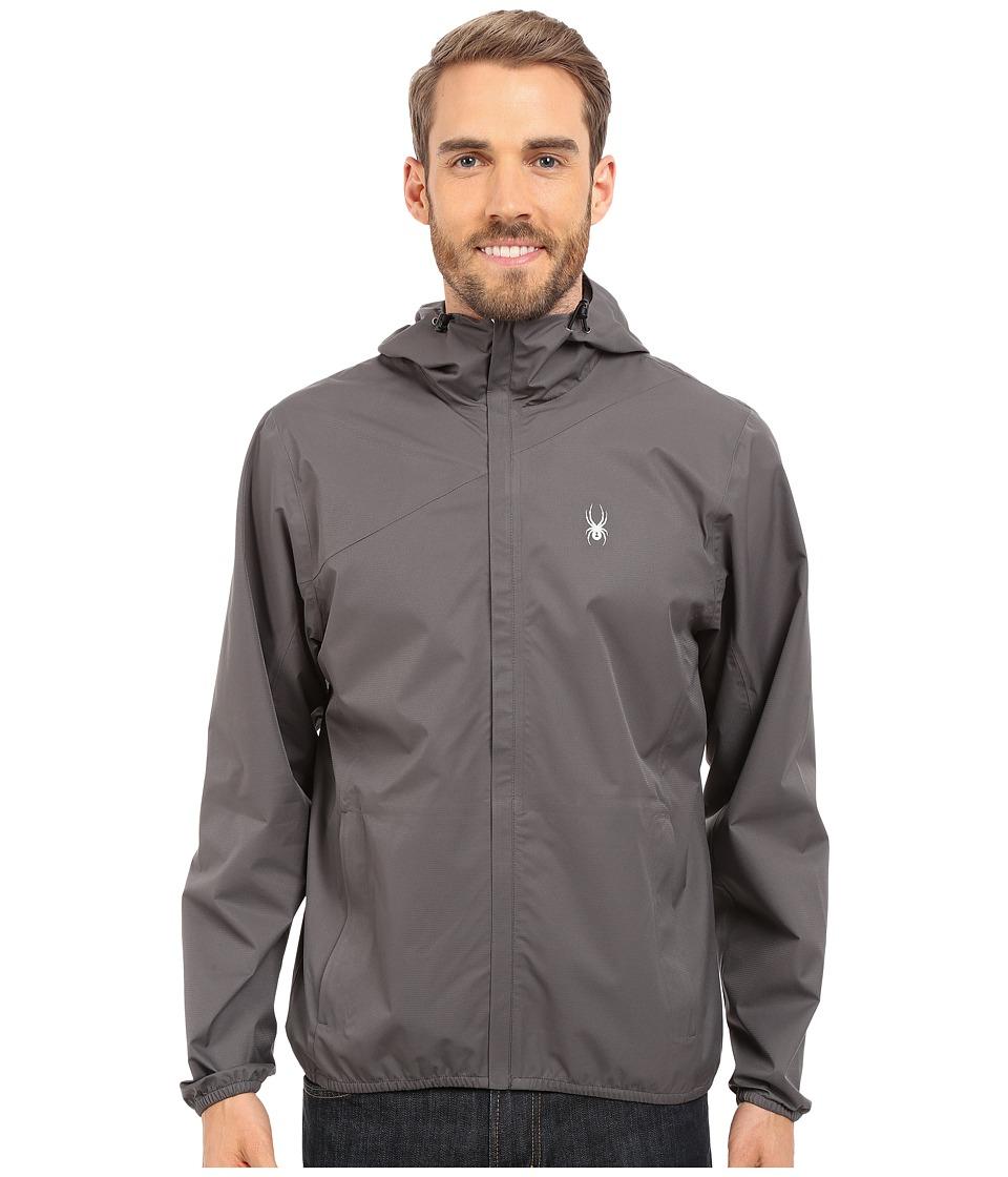 Spyder Bayse Shell Jacket Polar/Cirrus Mens Coat