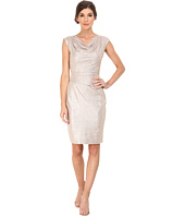 Vince Camuto - Metallic Cowl Neck Dress