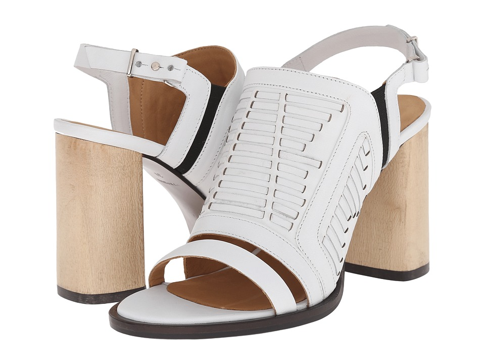 THAKOON ADDITION Lizzy 2 White Womens Sandals