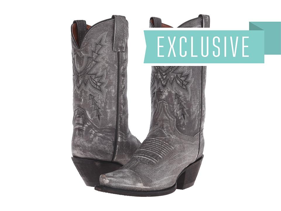 Dan Post - Gina (Grey Sanded) Cowboy Boots
