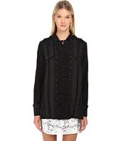 EMMA COOK - Silk Tuxedo Shirt