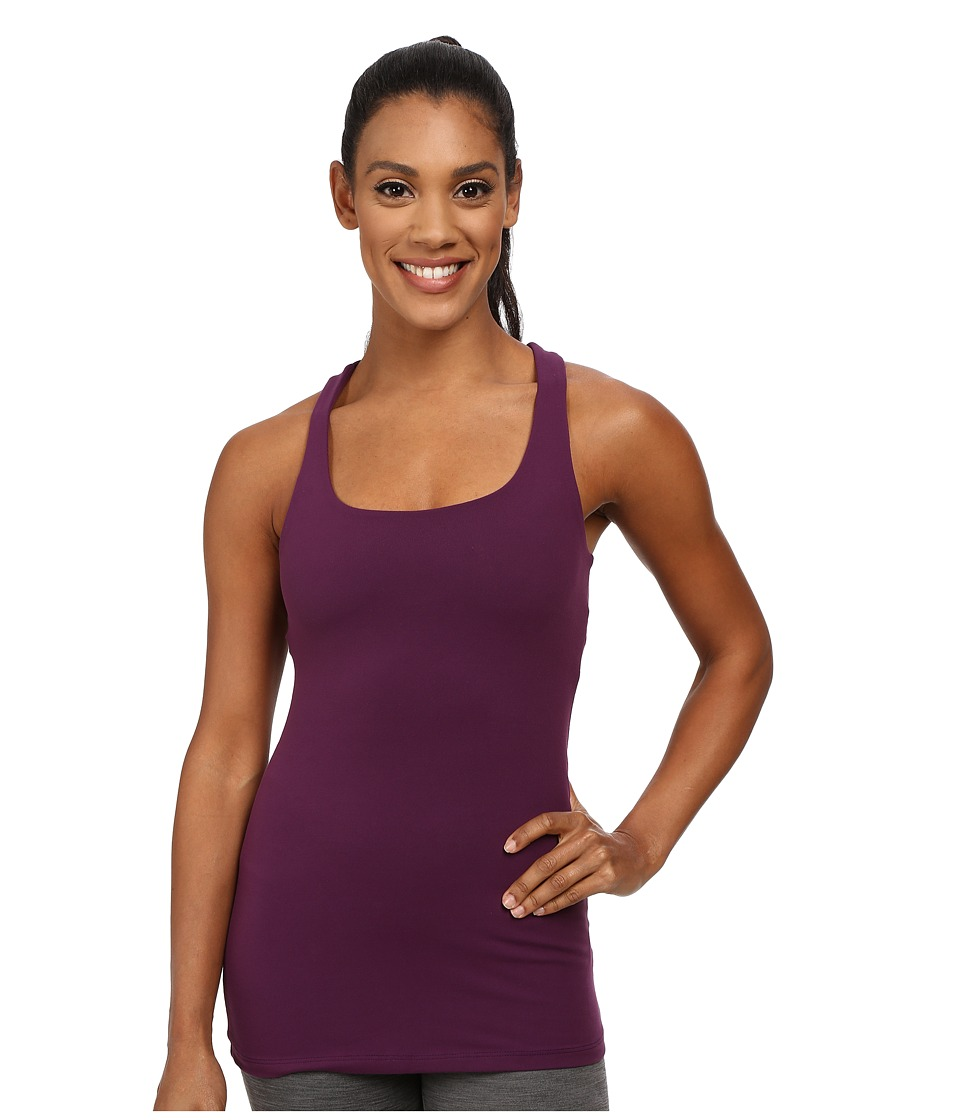 Beyond Yoga Cutout Cami Imperial Violet Womens Sleeveless