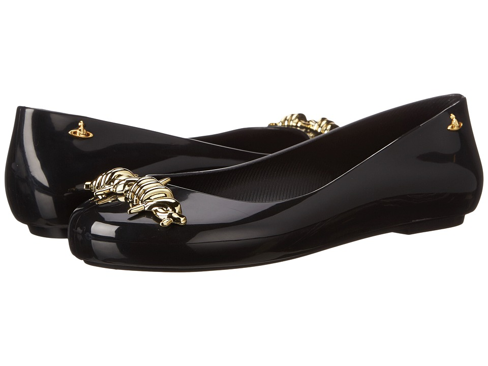 Vivienne Westwood - Anglomania + Melissa Space Love (Black/Gold) Women